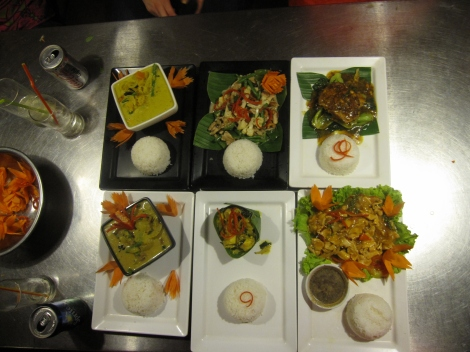 Some of the delicious dishes you can make in a Siam Reap cooking class